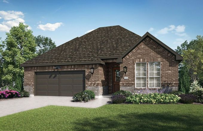 Ready To Build Home In Ladera Rockwall Community