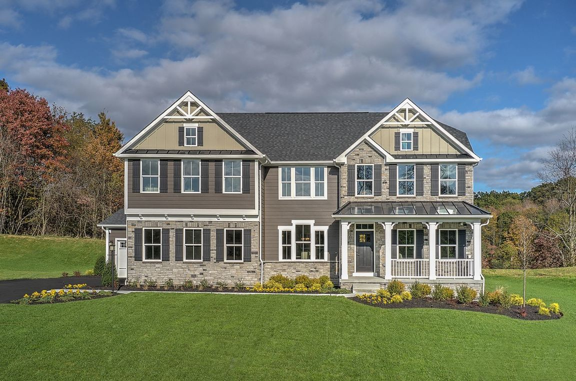 Ready To Build Home In Estates of London Grove Community