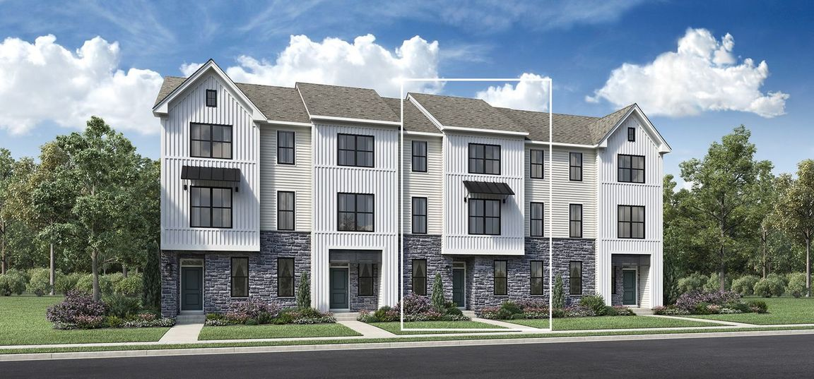 Ready To Build Home In Franklin Station - The Townes Collection Community