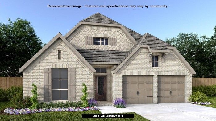 Ready To Build Home In The Groves 50' Community