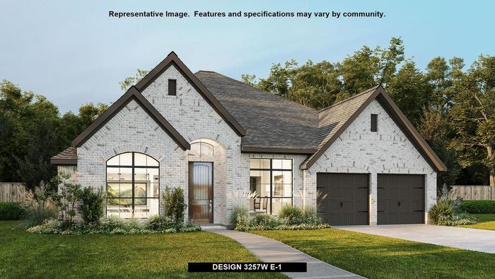 Ready To Build Home In Bryson 60' Community