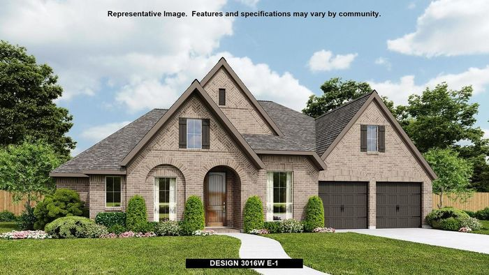 Ready To Build Home In The Grove at Vintage Oaks 65' Community
