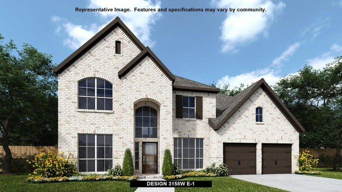 Ready To Build Home In Kallison Ranch 60' Community