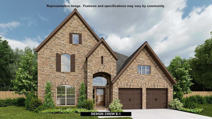 Ready To Build Home In Firethorne 60' Community