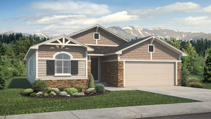 Ready To Build Home In Flying Horse Community