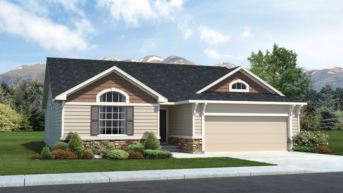 Ready To Build Home In Banning Lewis Ranch 55+ age-restricted Community
