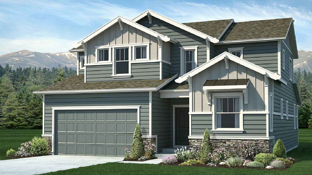 Ready To Build Home In Sanctuary Pointe Community