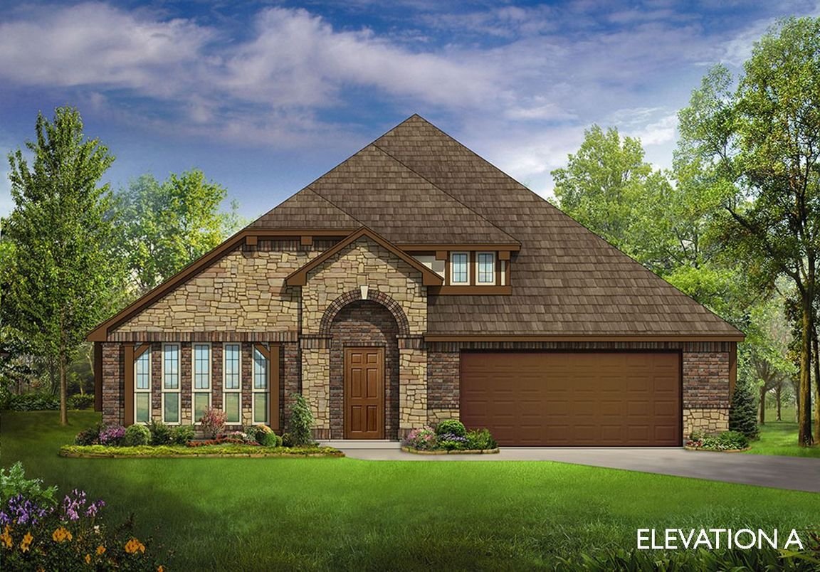 Ready To Build Home In Country Lakes Community
