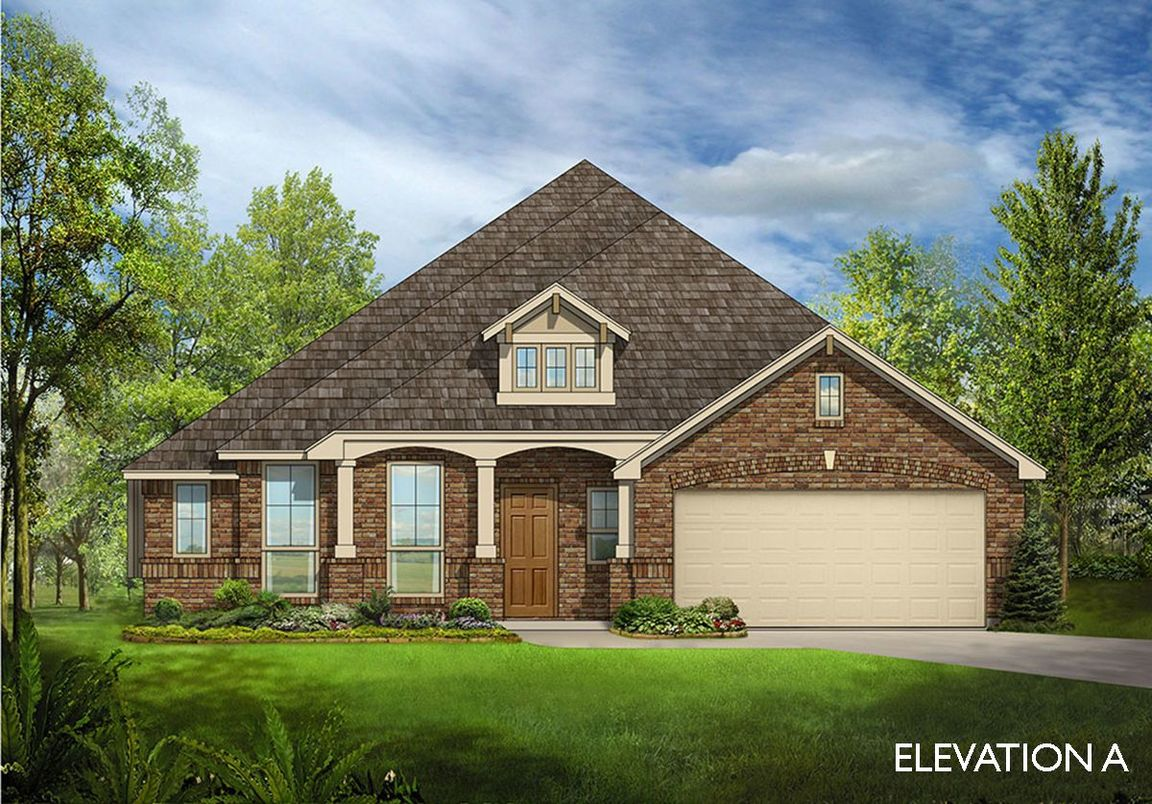 Ready To Build Home In Timberbrook Community