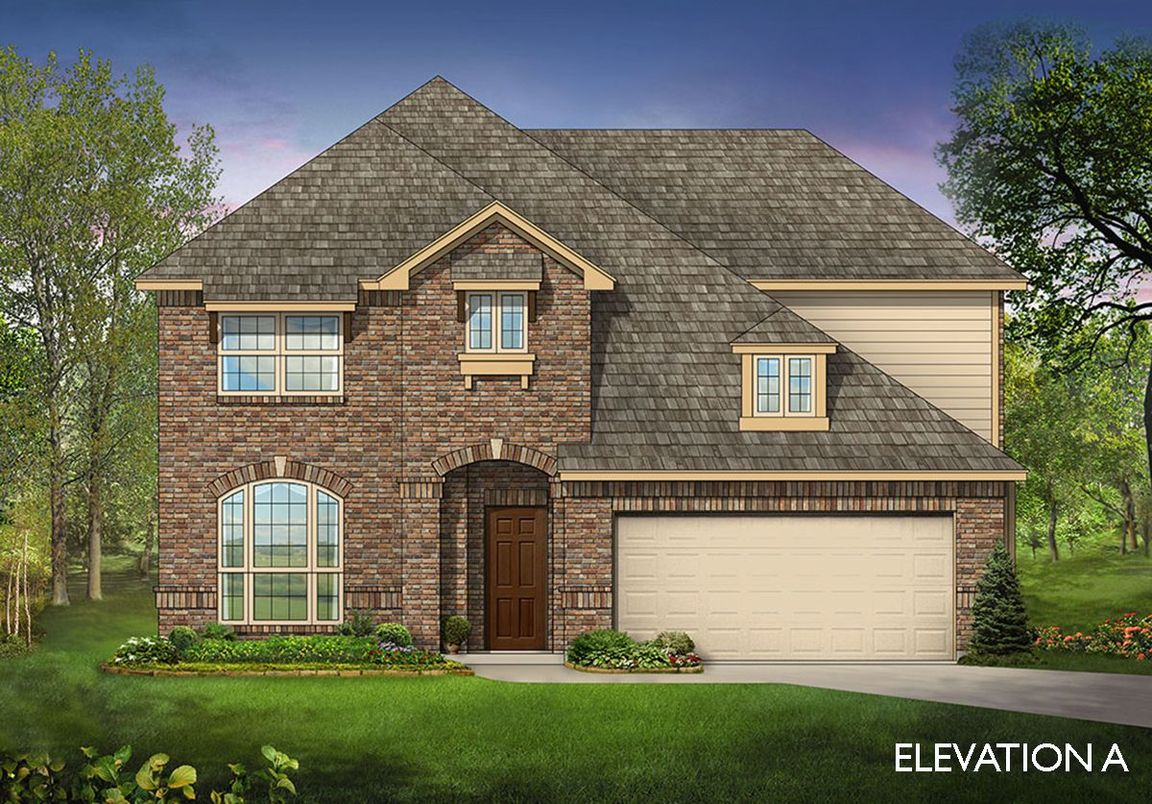 Ready To Build Home In Kings Fort Community