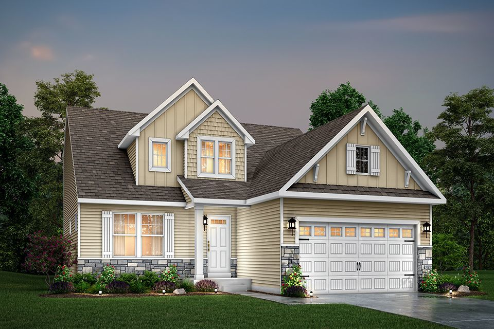 Ready To Build Home In Meadows at McDonald Farms Community