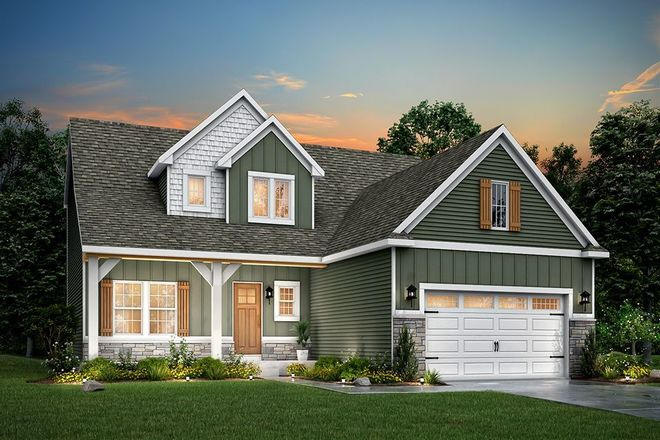 Ready To Build Home In Silvergrass Community