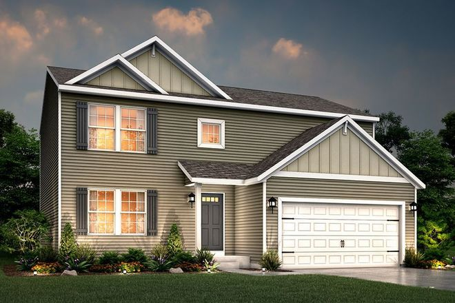 Ready To Build Home In Lafayette Falls Community