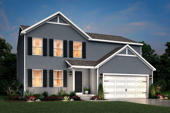 Ready To Build Home In Trumpeter Bay 2 Community