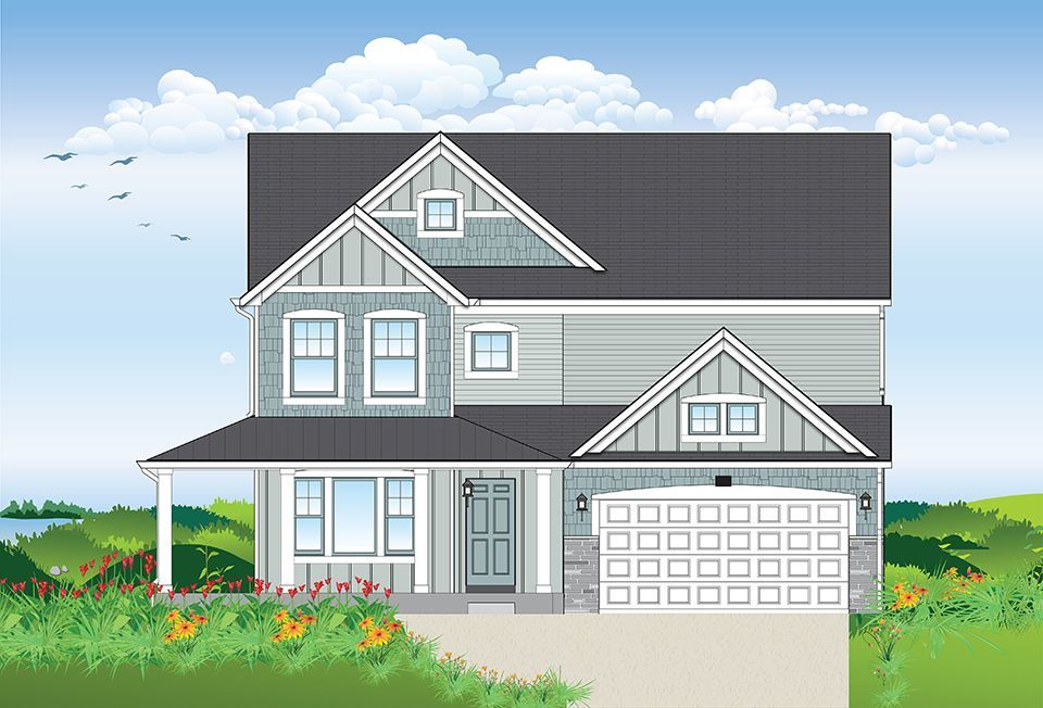 Ready To Build Home In Harbor Club Community