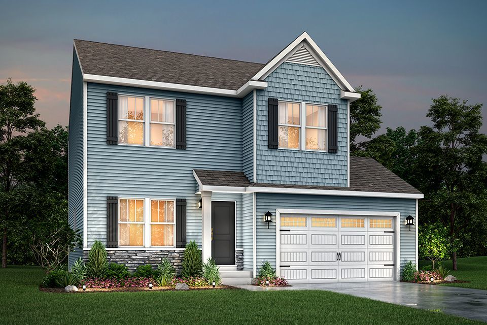 Ready To Build Home In Oak Grove Meadows Community
