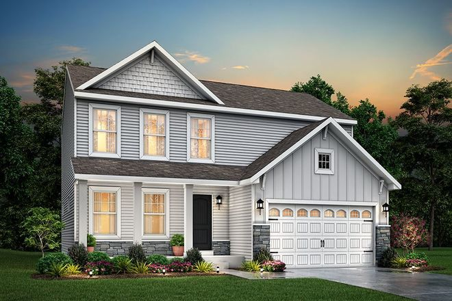Ready To Build Home In Pleasant Valley North Community
