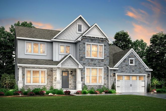 Ready To Build Home In Applegate Pointe Community
