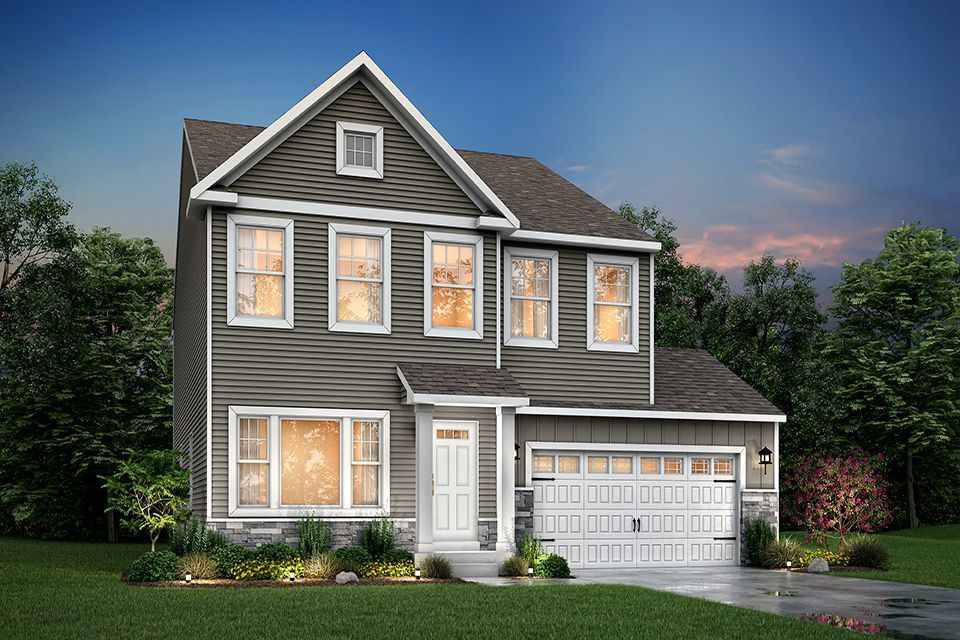 Ready To Build Home In Pennridge Trail Community