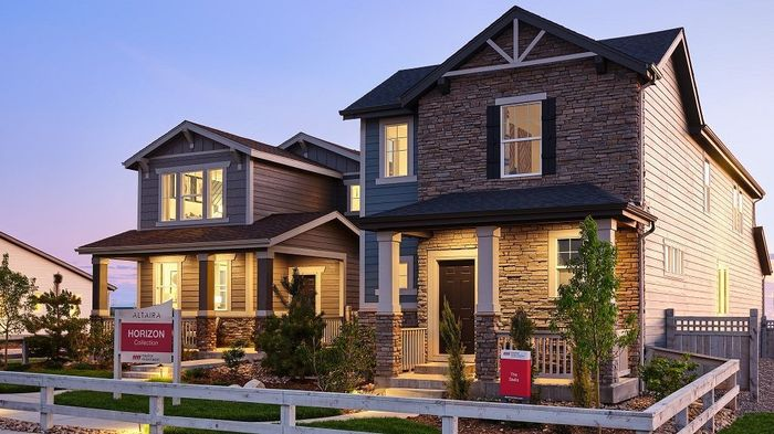 Ready To Build Home In The Horizon Collection at Altaira at High Point Community