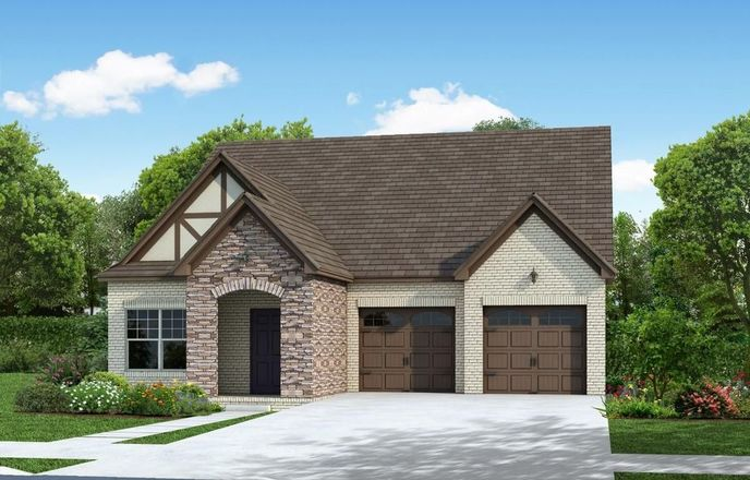 Ready To Build Home In Campbell Crossing Community