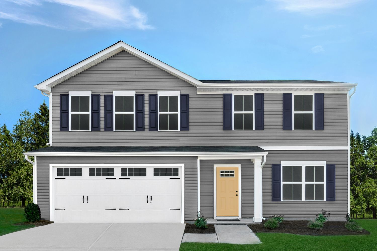 Ready To Build Home In Woodlands At Morrow Community