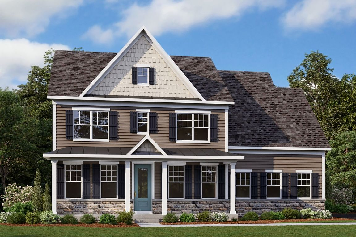 Ready To Build Home In Greystone Luxury Singles Community