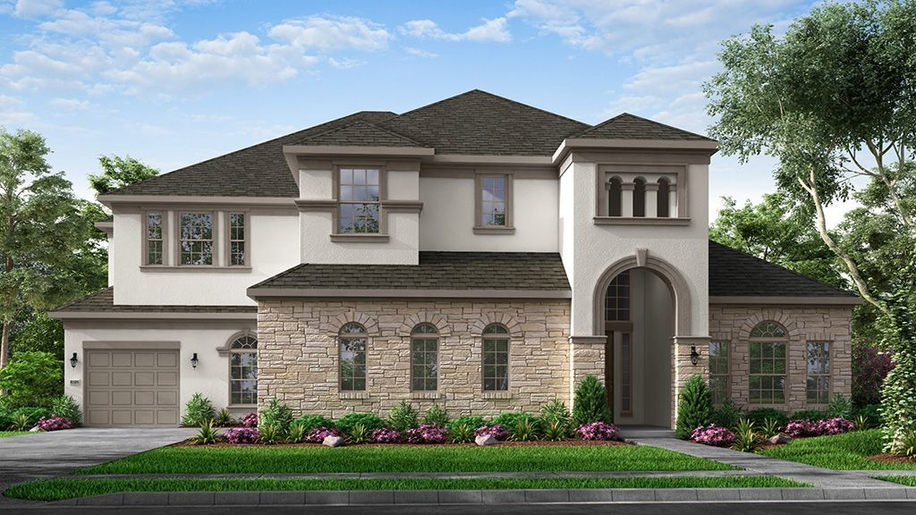 Ready To Build Home In Parten 75s Community