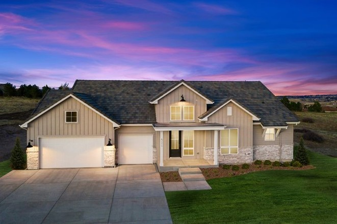Ready To Build Home In Pradera Community