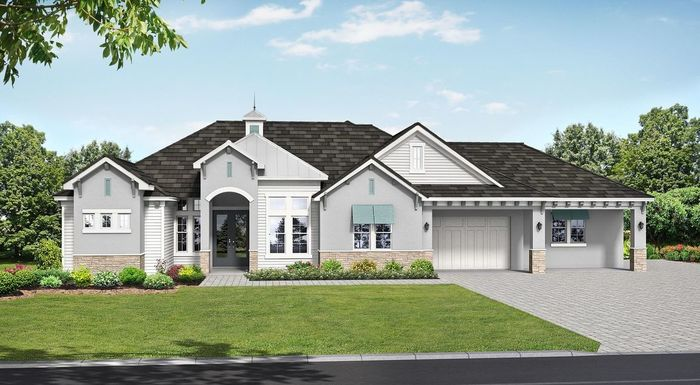 Ready To Build Home In Hampton Lakes Community