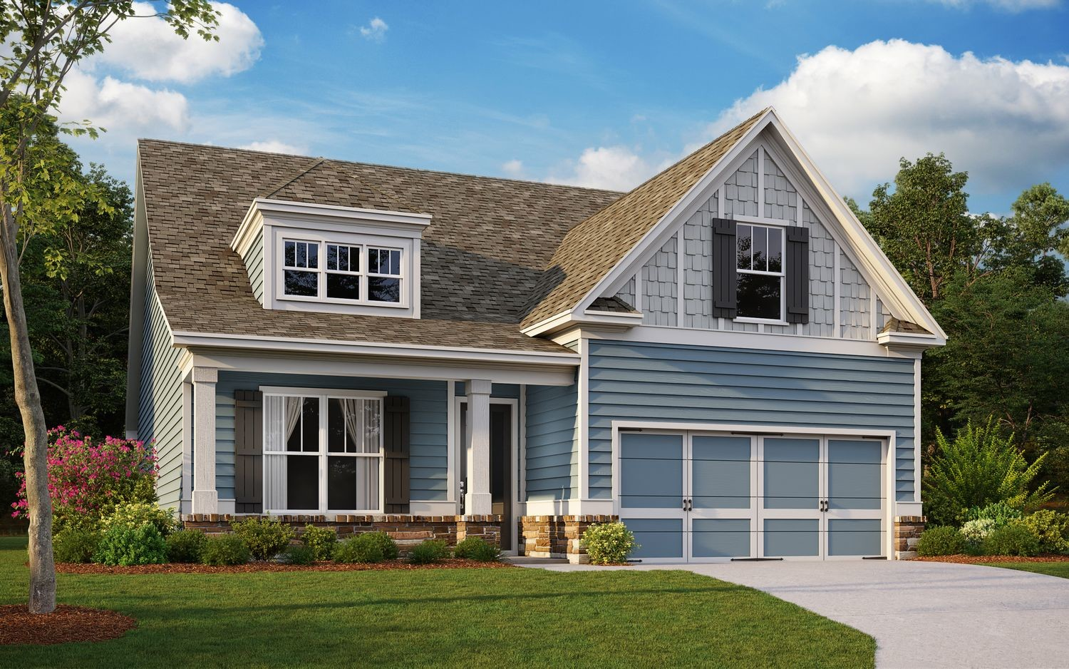 Ready To Build Home In Heritage Pointe at The Georgian Community