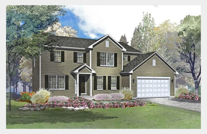 Ready To Build Home In Liberty Trails Community
