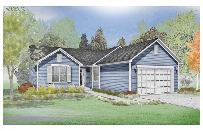 Ready To Build Home In The Trails of Dawson Creek Community