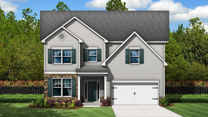 Ready To Build Home In Barr Lake Community