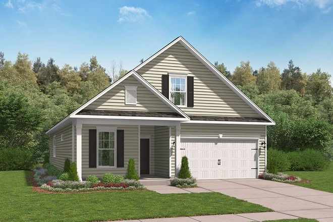 Ready To Build Home In Clairbourne Community