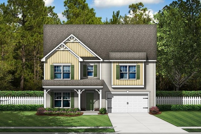 Ready To Build Home In Hitchcock Crossing Community