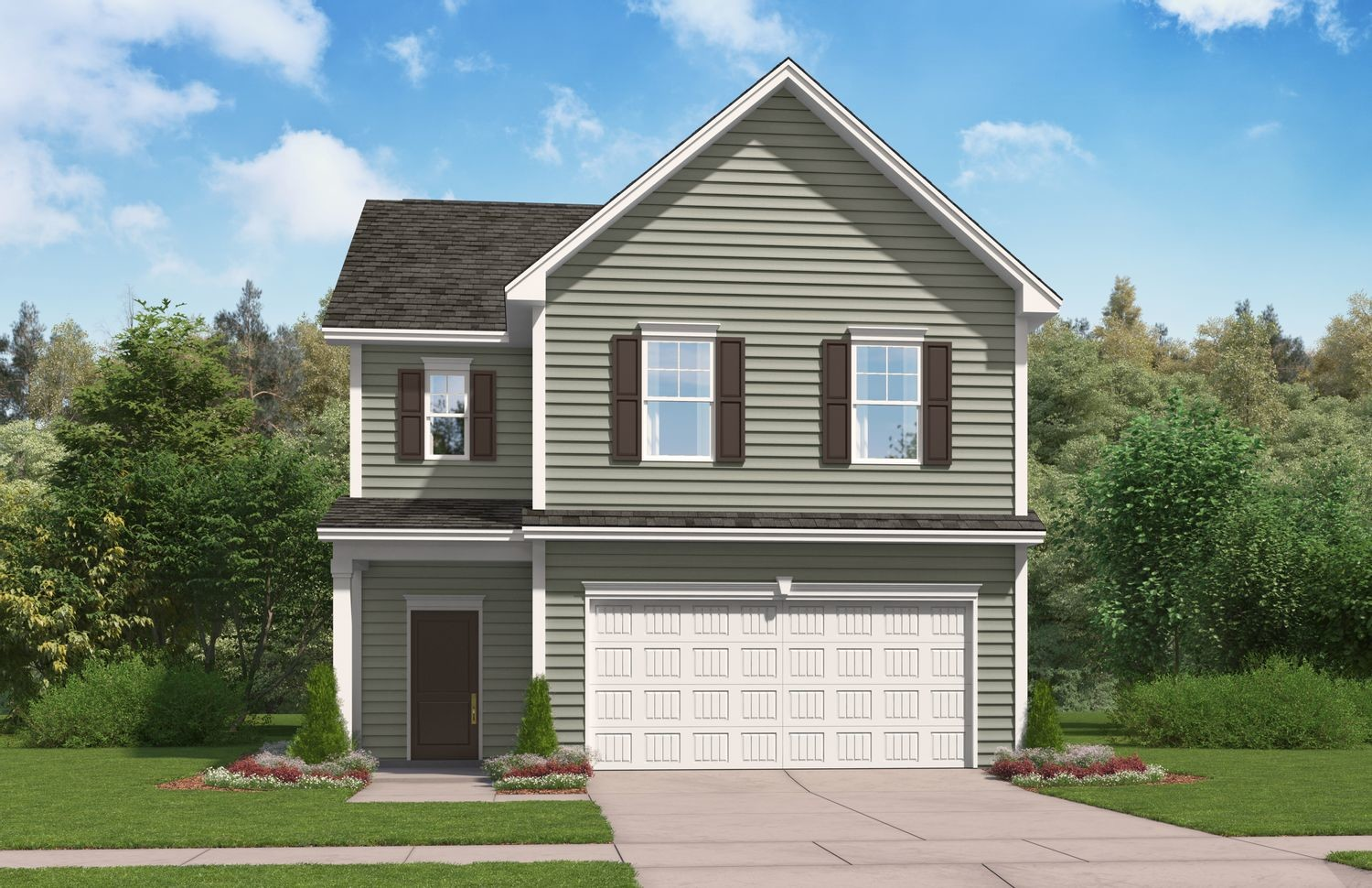 Ready To Build Home In Sage Creek Community