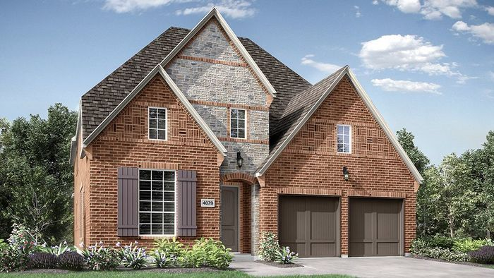 Ready To Build Home In Lakewood at Brookhollow 55s Community