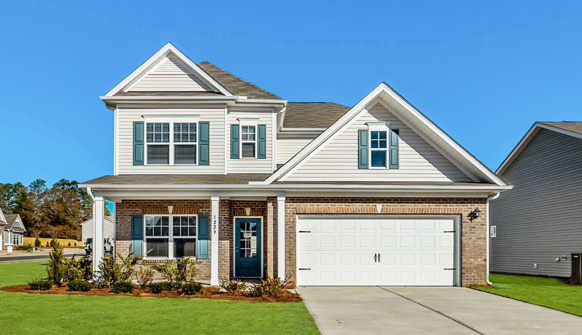 Ready To Build Home In Winston Pointe South Community