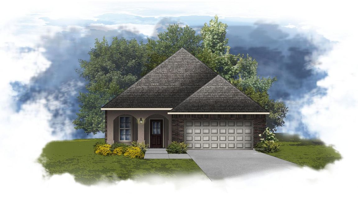 Ready To Build Home In Cypress Gates Community