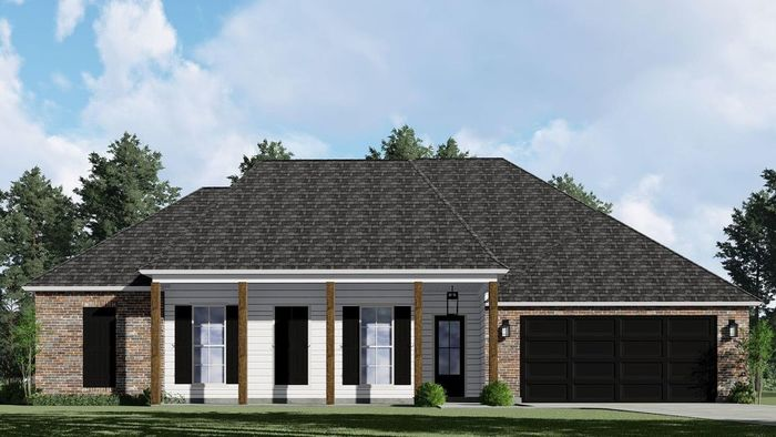Ready To Build Home In Cane Mill Crossing Community