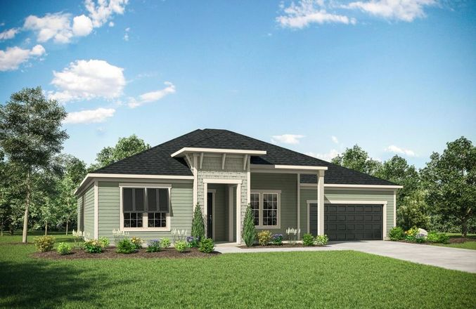 Ready To Build Home In Trailmark 70's and 80's Community