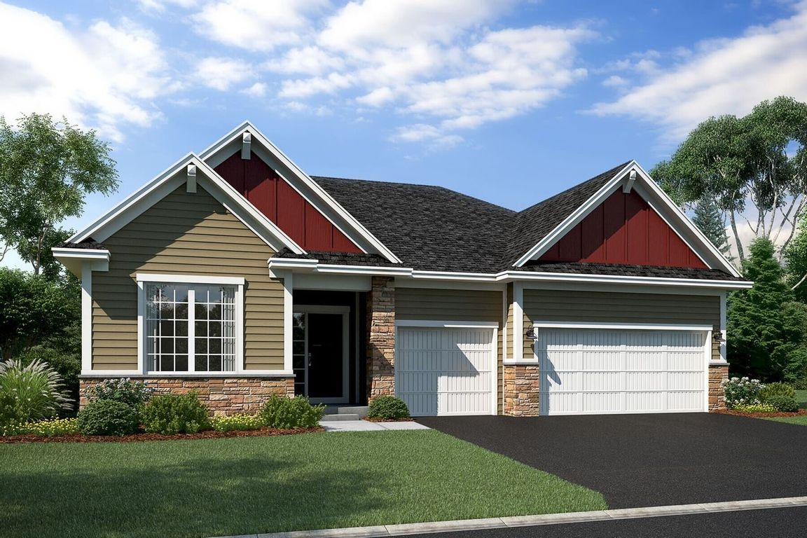 Ready To Build Home In Vista Pointe Community