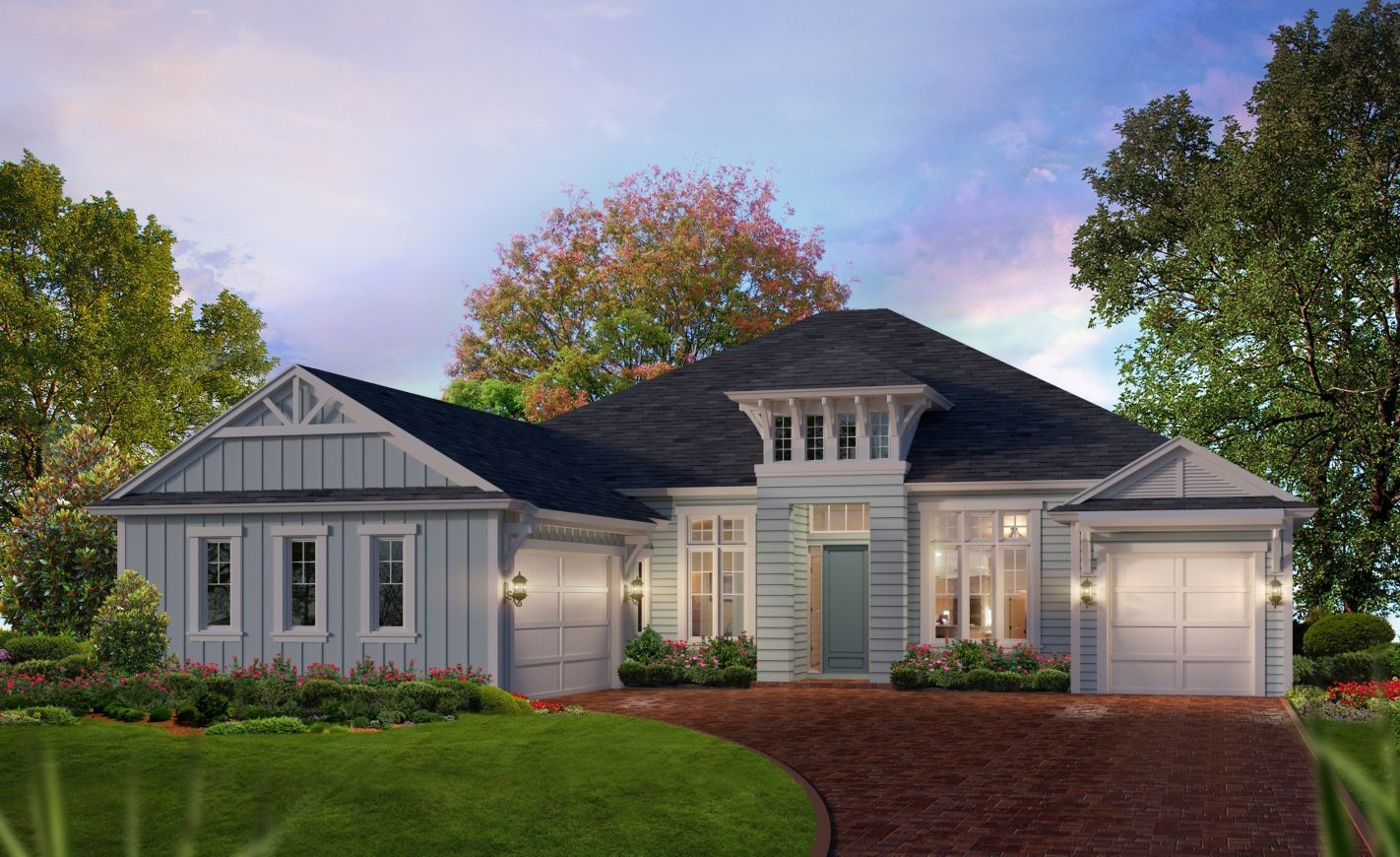 Ready To Build Home In Plantation Bay Community