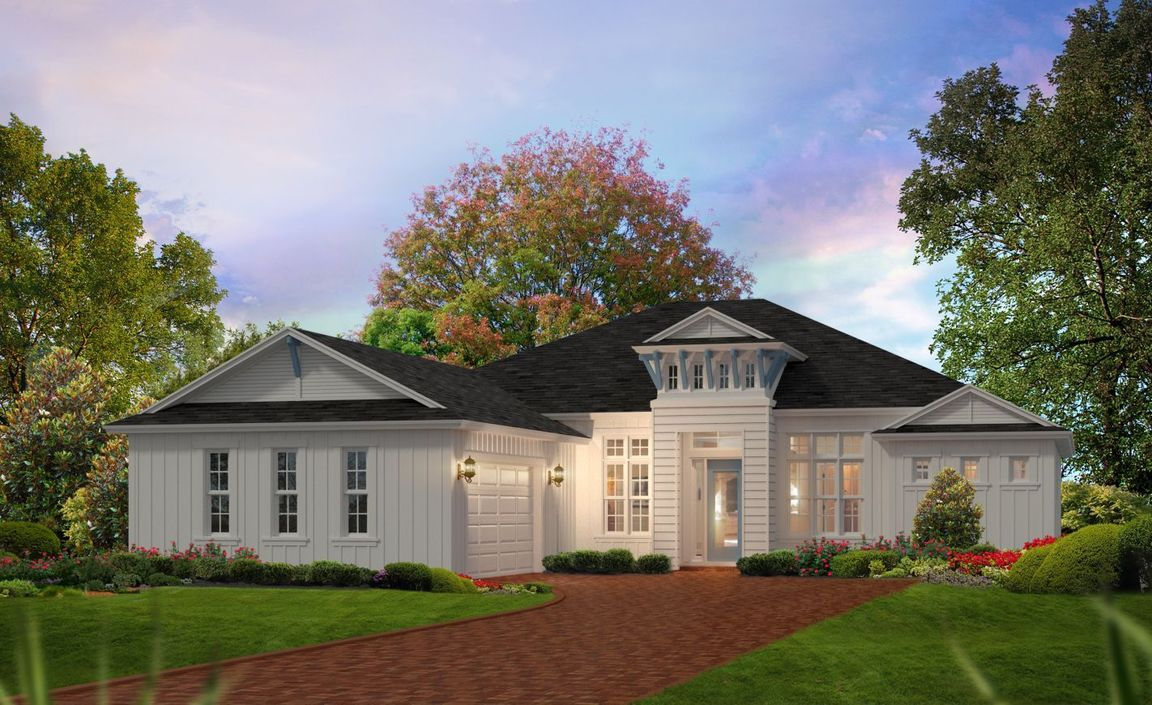 Ready To Build Home In Browns Landing Community