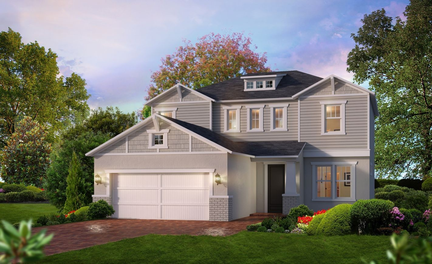 Ready To Build Home In Mosaic Community
