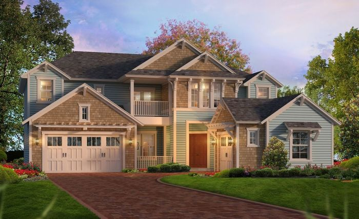 Ready To Build Home In Tidewater Community