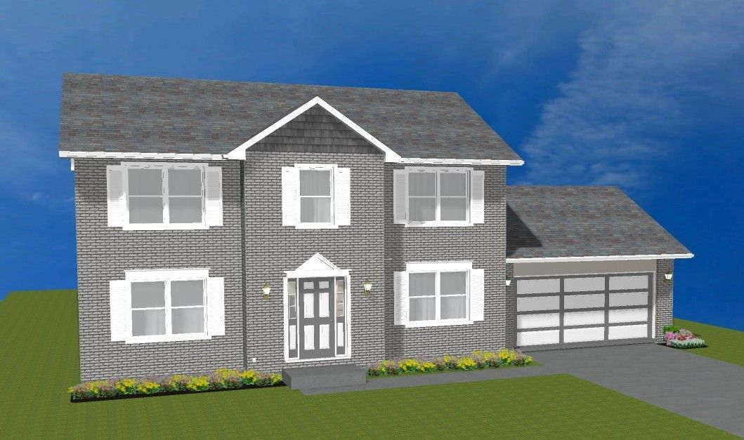 Ready To Build Home In Monestary Woods Community