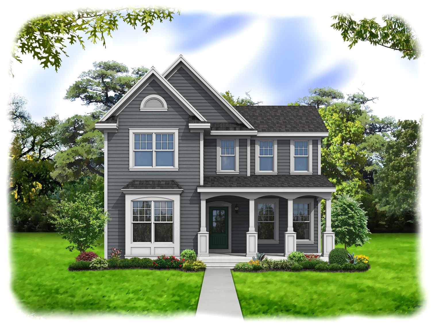 Ready To Build Home In The Villages at Brightleaf - Hallmark Community