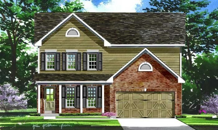 Ready To Build Home In Windswept Farms Community